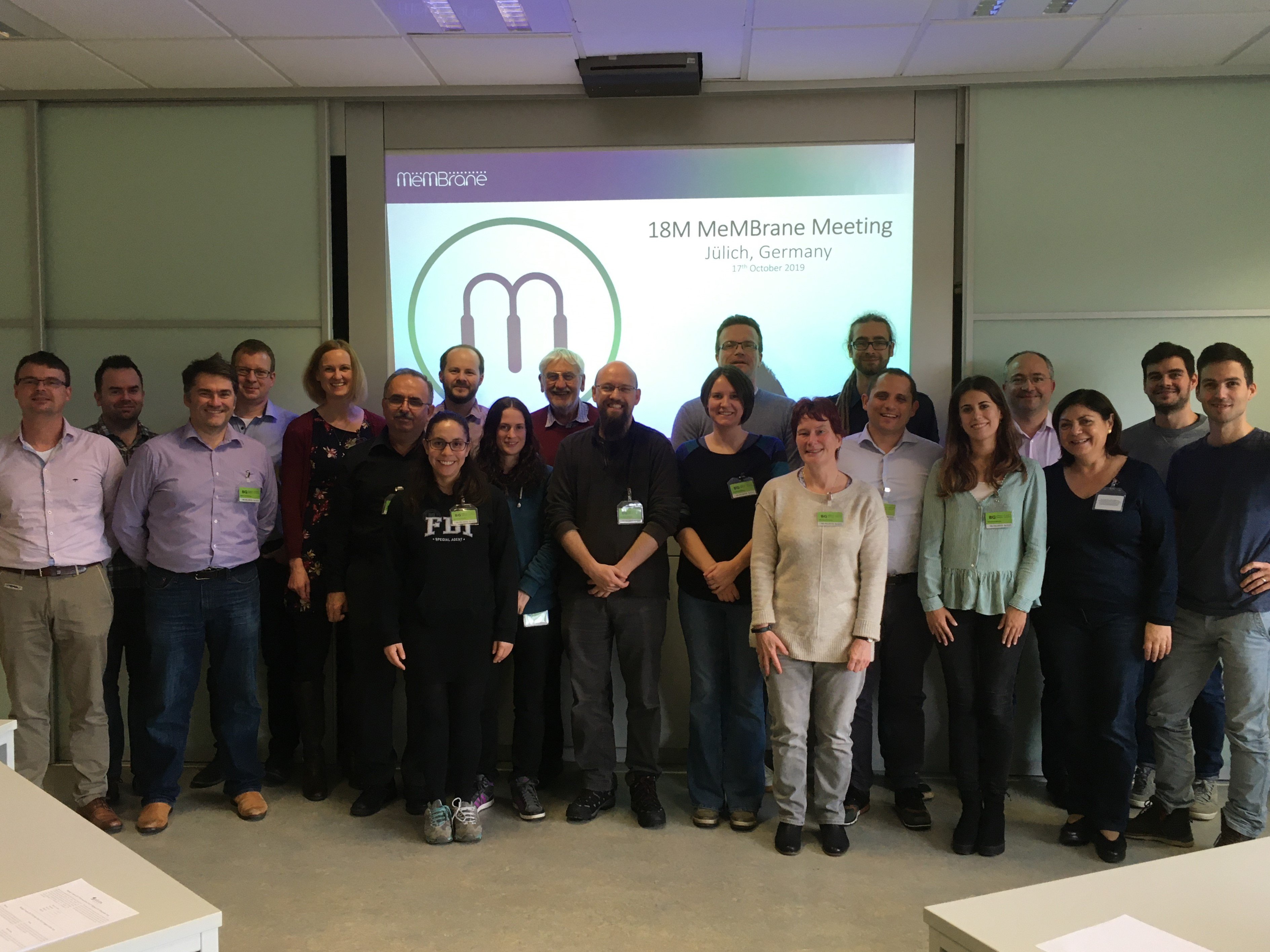 Mid-term meeting of MeMBrane project